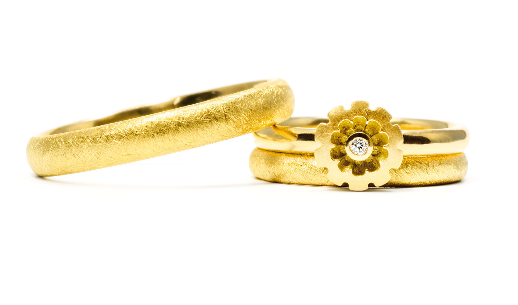 GOLDAFFAIRS - Individuelle Ringe / Trauringe aus ökofairem Gold