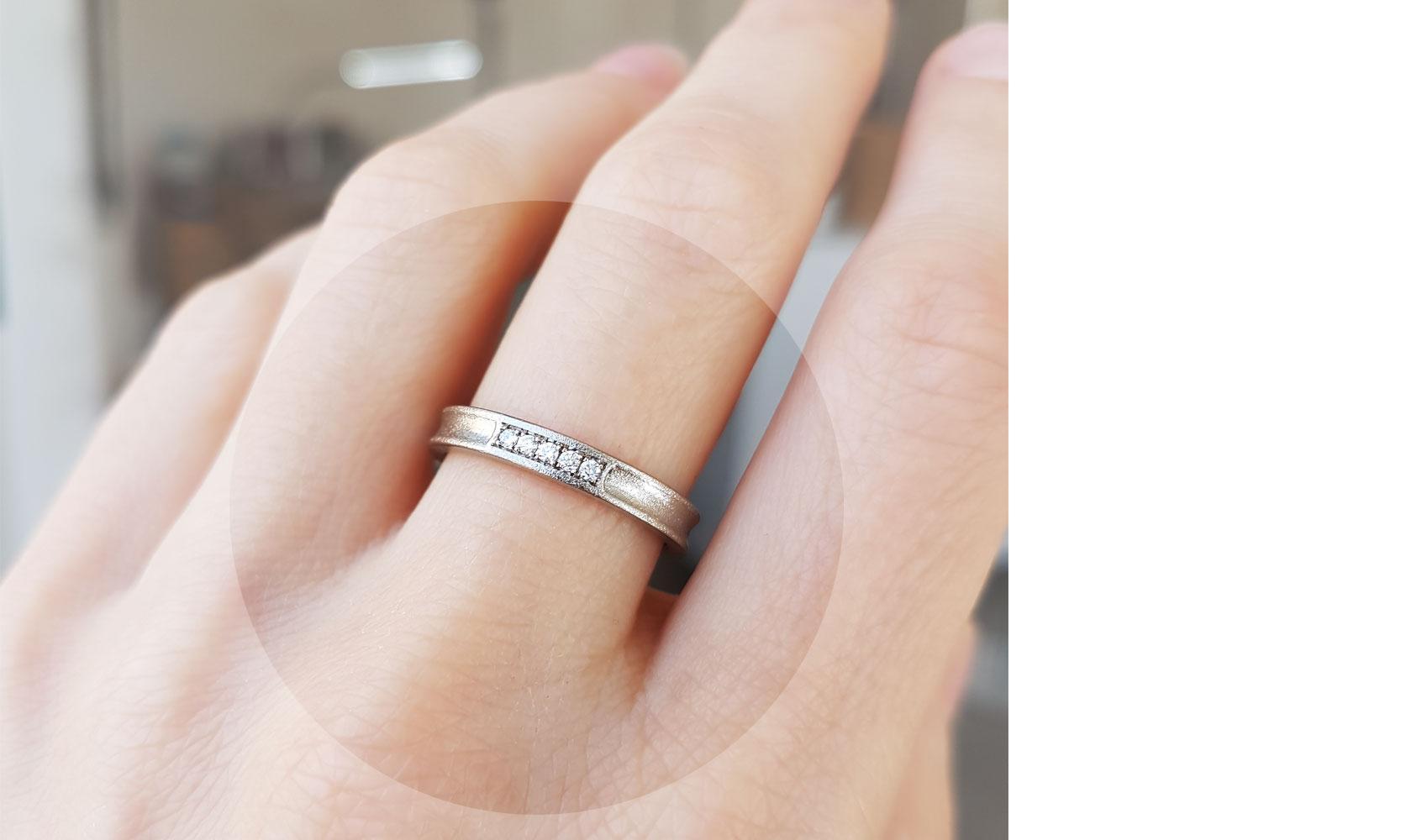"""Ring """"luna"""" von GOLDAFFAIRS aus Recycling Gold"""