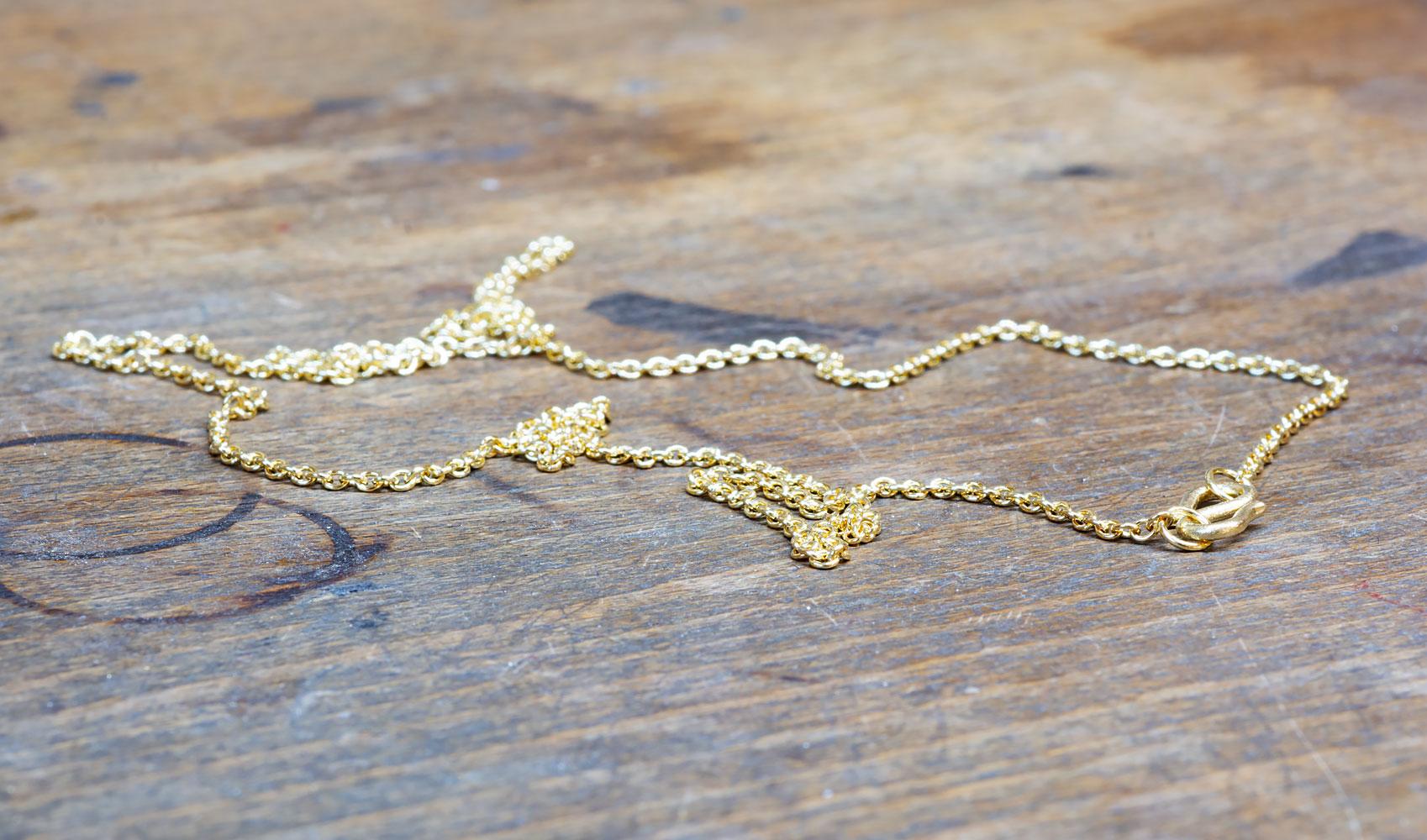 GOLDAFFAIRS - Kette aus Silber, goldplattiert