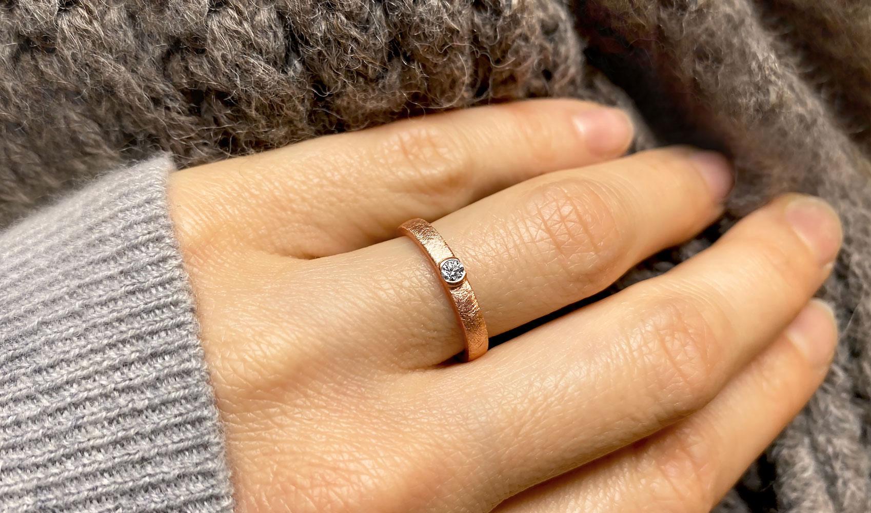 """GOLDAFFAIRS - Ring """"precious"""" aus FAIRTRADE Gold"""